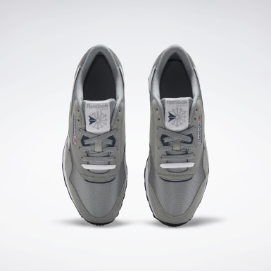 Men Classics Grey Classic Nylon Shoes