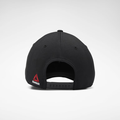 UFC Black UFC Logo Baseball Hat