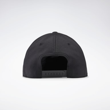 Fitness & Training Black Combat Six-Panel Cap