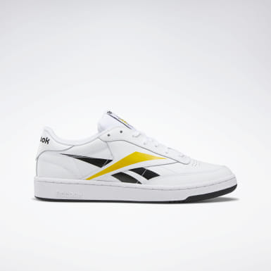 Men Classics White Club Classic Vector Men's Shoes