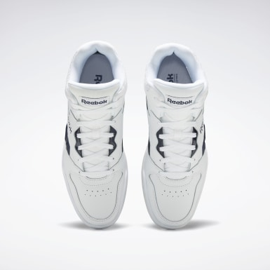 Mænd Classics White Reebok Royal BB4500 Hi 2 Shoes