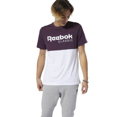 Camiseta M Classic Leather Reebok Graphic