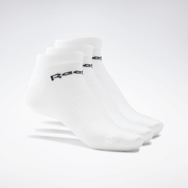 Running White Active Core Low-Cut Socks 3 Pairs