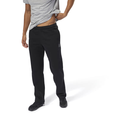 Pantaloni Training Essentials Fleece Open Hem