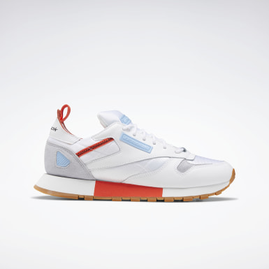 Women Classics White Classic Leather Ree:Dux Women's Shoes
