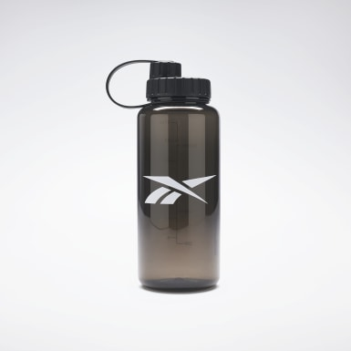 Running Black One Series Training Water Bottle 1 L