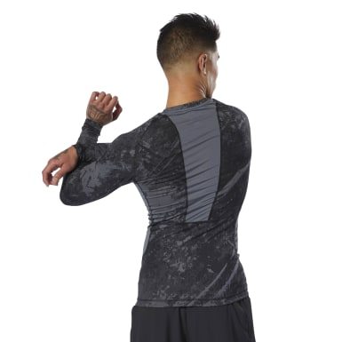 Rash Guard Combat Jacquard