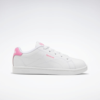 Kids Classics White Reebok Royal Complete Clean 2.0 Shoes