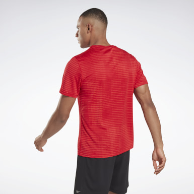 Heren Trail Running Run Jacquard T-shirt