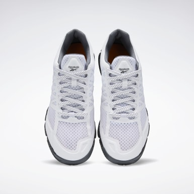 Men Training White Reebok Speed Men's Training Shoes