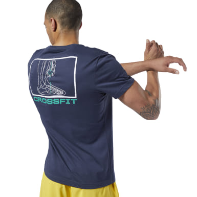 Reebok CrossFit® Deadlift Diagram Tee