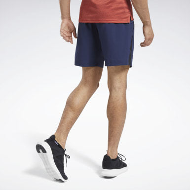 Short Workout Ready Blu Uomo Yoga
