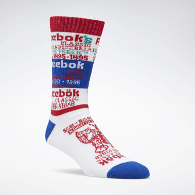 Classics White Classics Graphic Food Crew Socks