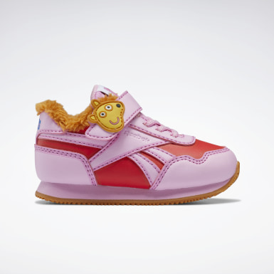 Kids Classics Pink Reebok Royal Classic Jogger 3 Shoes - Toddler
