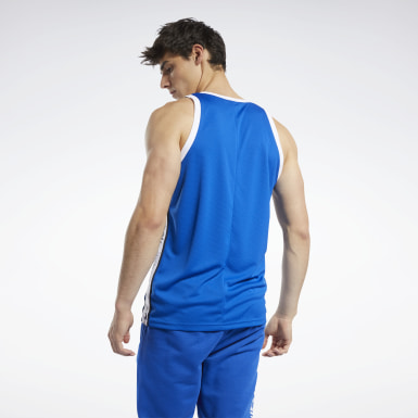 Heren Basketbal Meet You There Basketbal Tanktop