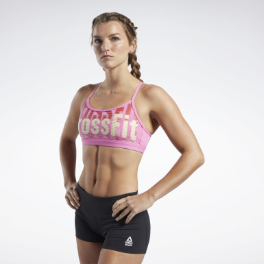 Frauen Cross Training Reebok CrossFit® Medium-Impact Skinny Bra