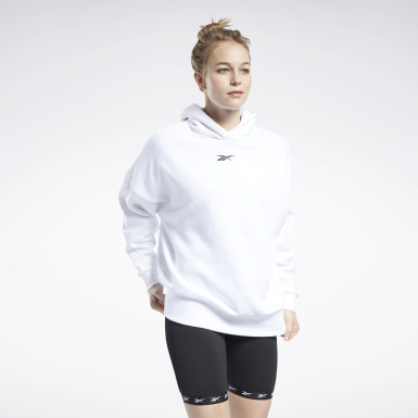 Women Studio White Studio Restorative Hoodie