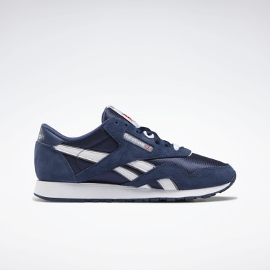 Women Classics Blue Classic Nylon Shoes