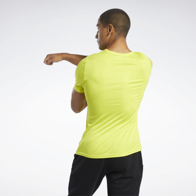 T-shirt Workout Ready Yellow Hommes Entraînement