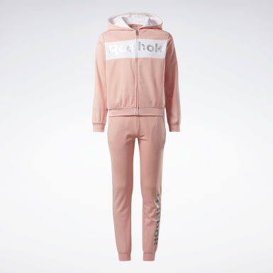 Girls Fitness & Training Pink Reebok Track Suit