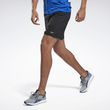 Short Running Essentials Preto Homem Running