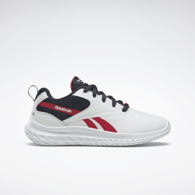 Boys Running White Reebok Rush Runner 3 Shoes