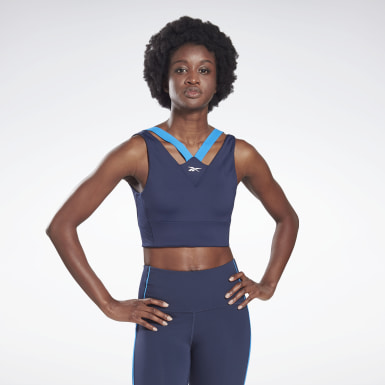 Women Studio Blue Studio Medium-Impact Bra