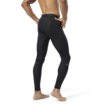 Legging de compression avec grand logo WOR