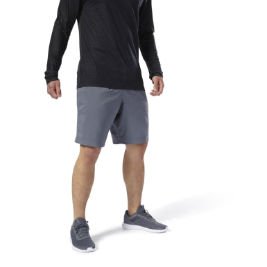 Shorts tejidos Elements Gris Hombre Fitness & Training