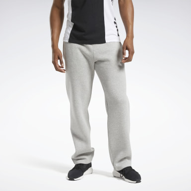 Pantalón Training Essentials Fleece Gris Hombre Fitness & Training