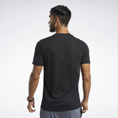 Men Studio Black Workout Ready Supremium Tee