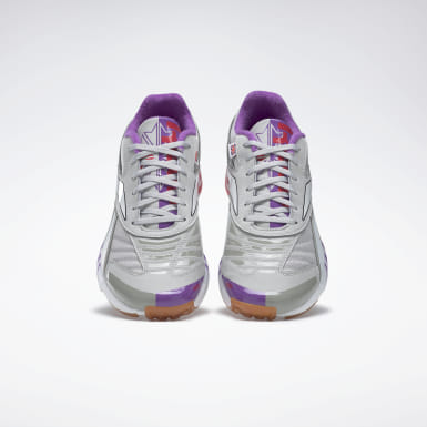 Retro Running Grey Futsal Fusion R58 Shoes