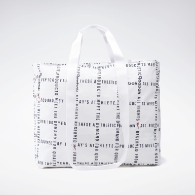 Classics White Classics Checks & Stripes Shopper Bag