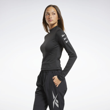 Frauen Fitness & Training MYT Long-Sleeve Top Schwarz
