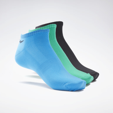 Men Fitness & Training Blue One Series Training Socks 3 Pairs