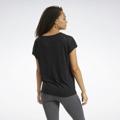 Women Yoga Burnout T-Shirt