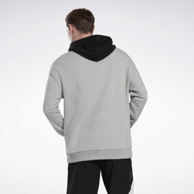 Sweat à capuche LES MILLS® Grey Studio