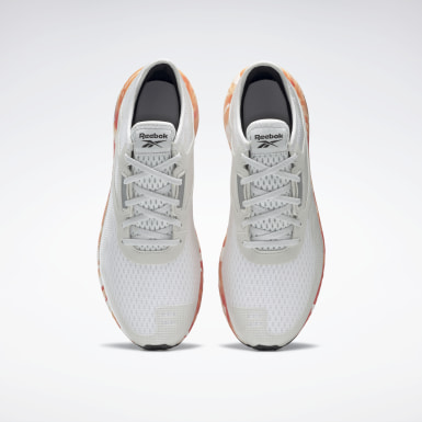 Men Running Grey Reebok Flashfilm 3 Shoes