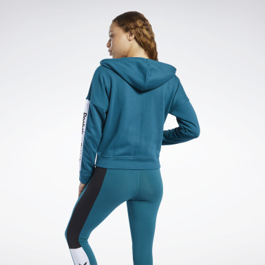 Felpa con cappuccio Training Essentials Linear Logo Donna Fitness & Training