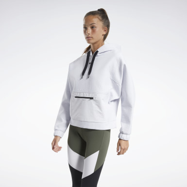 Felpa Edgeworks Bianco Donna Hiking