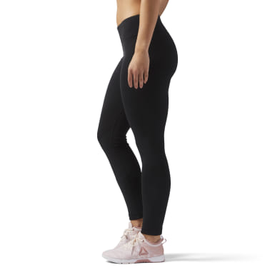 Women Studio Black Reebok Training Essentials Legging