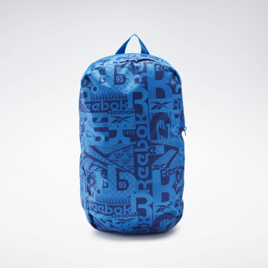 Girls Fitness & Training Blue Graphic Backpack