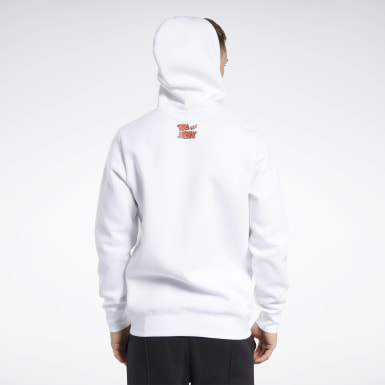 Classics White Tom and Jerry Hoodie