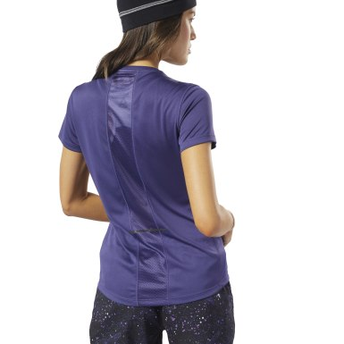 "Shorts Running Essentials - 4"" Morado Mujer Running"