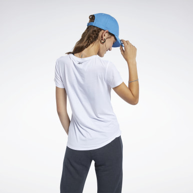 Camiseta ACTIVCHILL Graphic Blanco Mujer Fitness & Training