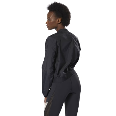 Women Fitness & Training Black WOR Woven Jacket