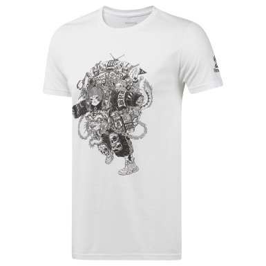 Men Training Multicolor Brackmetal Artist T-Shirt
