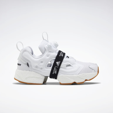 Classics White Instapump Fury Boost Shoes