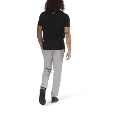 Pantalon à bords-côtes Elements Grey Hommes Entraînement