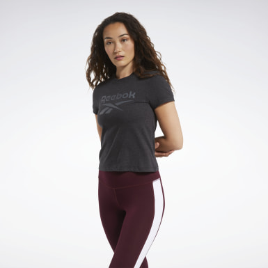 Women Cross Training Black Training Essentials Textured Tee